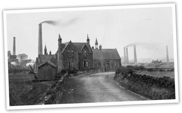 This photograph of what was then known as Barnsley Road shows Carlton Board School and School House. It was here that a makeshift mortuary was made after the tragedy at Wharncliffe Woodmoor colliery where the bodies of the 58 victims were taken.