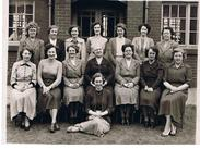 Teachers at Wombwell Girls' Secondary Modern school in the 1950s - Courtesy of Mrs Margaret Storey (née Sanderson)
