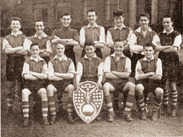 The 1953-1954 Barnsley and District Boys, joint-winners of the Yorkshire (Wylie) Shield. L-R standing: Wright, Jones, Bessant, Lunn, Matthews, WIlliams, Schofield. Seated: Nickerson, Mosley, Wigley, Houghton and Holliday - Courtesy of Courtesy of Brian Elliott